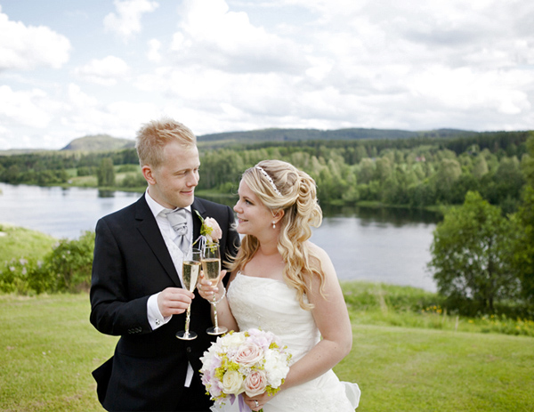 Bröllop – Brudpar – Torpshammar